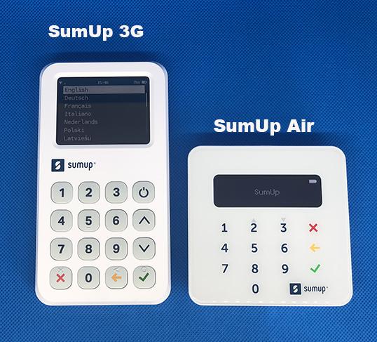 Pourquoi opter pour un duo SumUp 3G